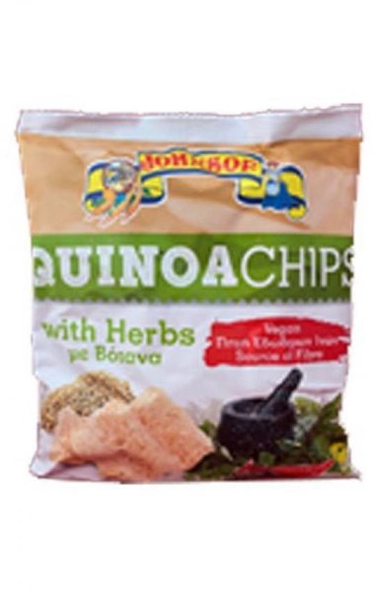 quinoa chips herbs
