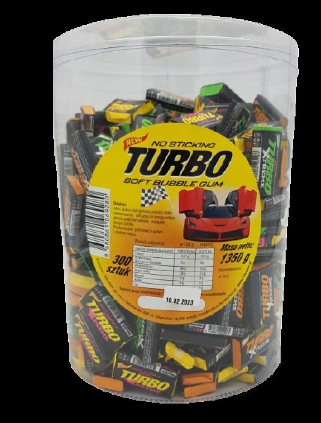 guma turbo czarna
